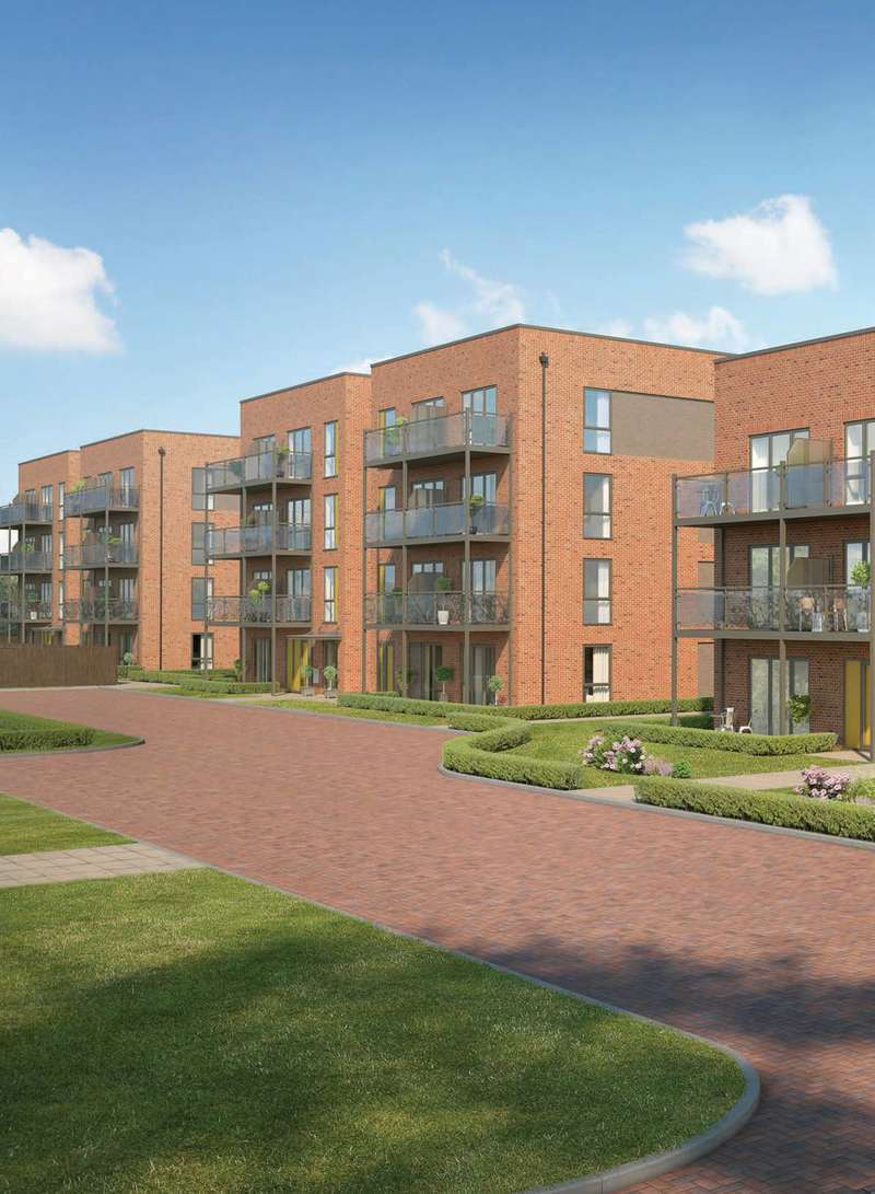 2 Bedrooms Flat for sale in Penhurst Square, Croydon, CR0