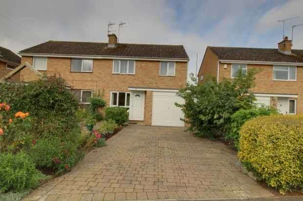 3 Bedrooms Semi Detached House for sale in Meadow Close, Oxford, Oxfordshire, OX2 9PA