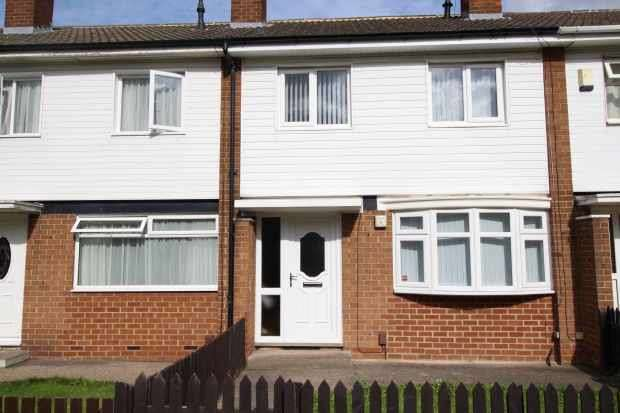 3 Bedrooms Terraced House for sale in Ainsdale Way, Middlesbrough, Cleveland, TS4 3JU