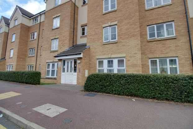 2 Bedrooms Apartment Flat for sale in Block Crowe Road, Bedford, Bedfordshire, MK40 4FY