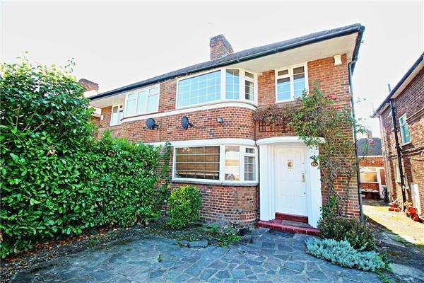 3 Bedrooms Semi Detached House for sale in Cheyneys Avenue, Canons Park