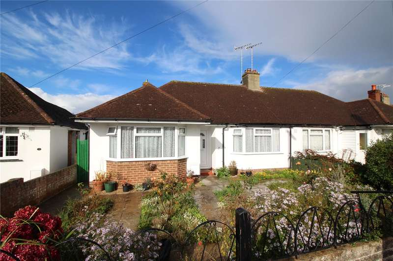 3 Bedrooms Semi Detached Bungalow for sale in Sackville Crescent, Broadwater, Worthing, BN14