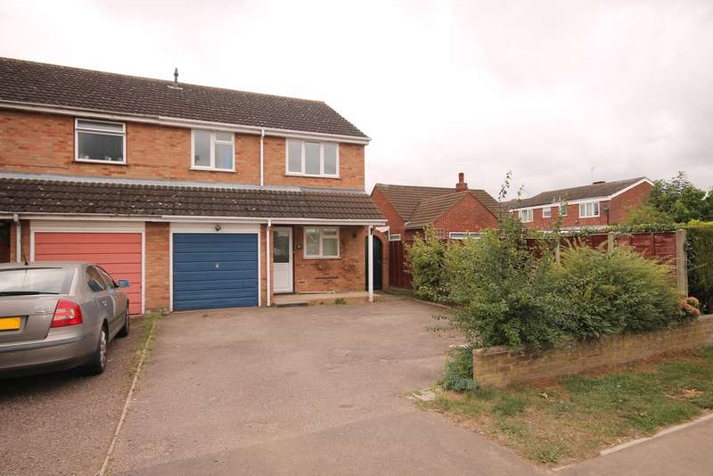 3 Bedrooms Semi Detached House for sale in Station Road, Marston Moretaine, MK43