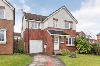 4 Bedrooms Detached House for sale in Lochwood Loan, Moodiesburn, Glasgow, North Lanarkshire