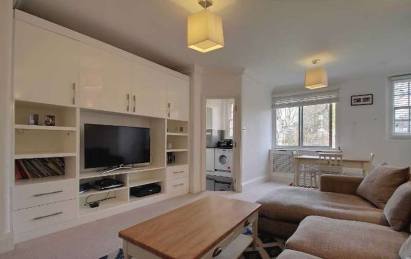 2 Bedrooms Flat for sale in Grove End Road, Abbey Road