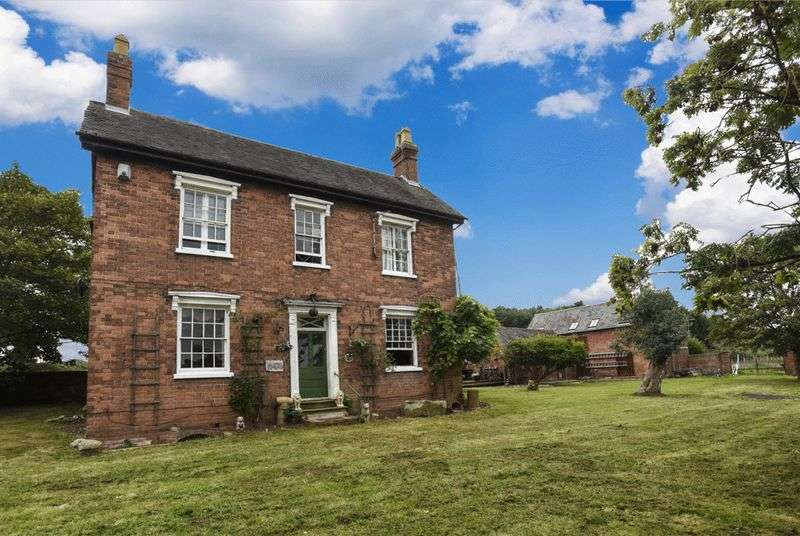 5 Bedrooms Detached House for sale in Harborough Farm and Barn, Birmingham Road, Blakedown