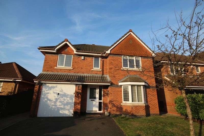 4 Bedrooms Detached House for sale in PIPERS CLOSE, Norden, Rochdale OL11 5WD