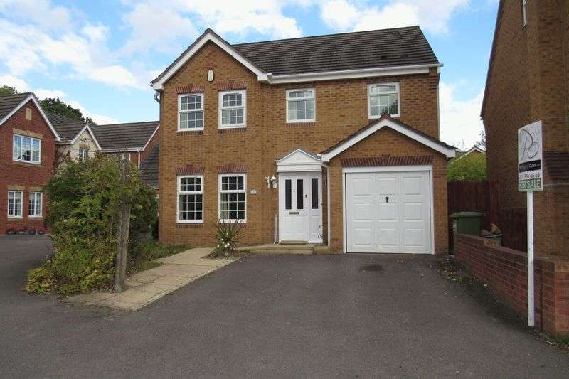 4 Bedrooms Detached House for sale in Admiral Close, Stoke Park Bristol