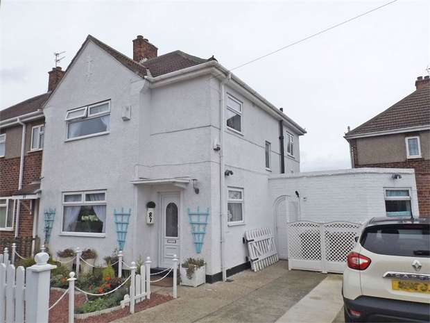 3 Bedrooms End Of Terrace House for sale in Davison Drive, Hartlepool, Durham