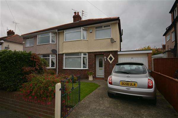 3 Bedrooms Semi Detached House for sale in Cortsway, Greasby