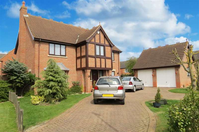 4 Bedrooms Detached House for sale in Brecon Way, Sleaford