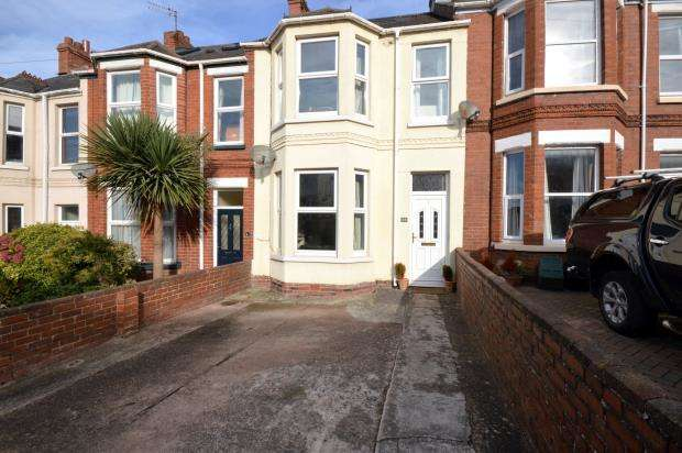 4 Bedrooms Terraced House for sale in Ryll Grove, Exmouth, Devon