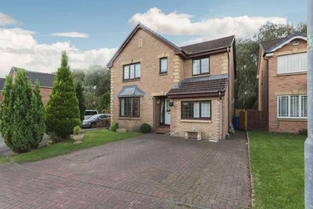 4 Bedrooms Detached House for sale in Brent Avenue, Thornliebank, Glasgow, G46 8JU