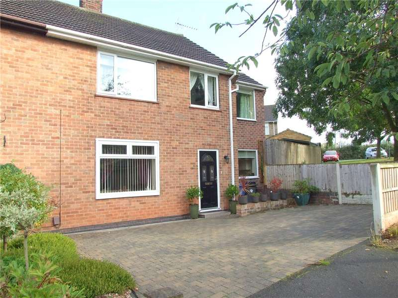 4 Bedrooms Semi Detached House for sale in Haddon Drive, Spondon, Derby, Derbyshire, DE21