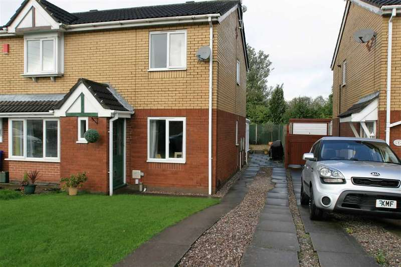 2 Bedrooms Semi Detached House for sale in Freshwater Grove, Bucknall, Stoke on Trent