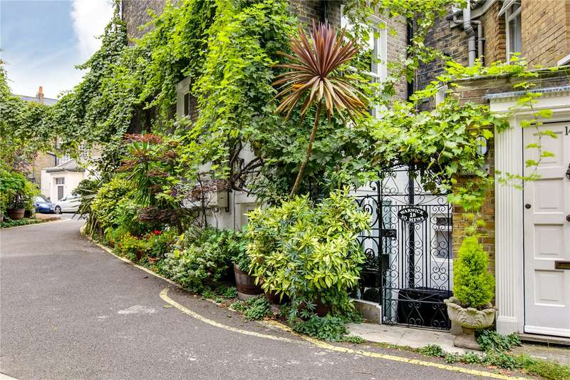 2 Bedrooms Ground Flat for sale in Warwick Square Mews, London, SW1V