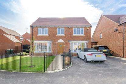5 Bedrooms Detached House for sale in Harris Close, Newton Leys, Bletchley, Milton Keynes