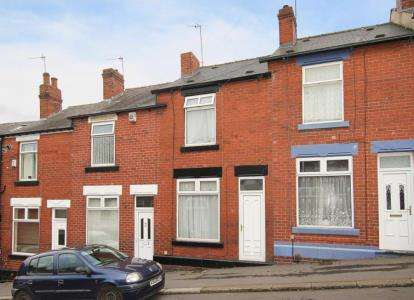 2 Bedrooms Terraced House for sale in Cartmell Road, Sheffield, South Yorkshire