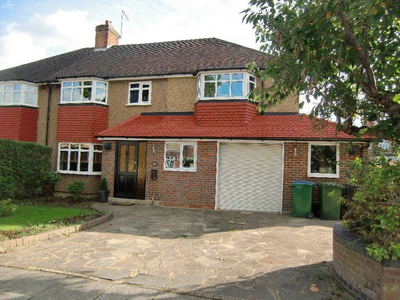 4 Bedrooms Semi Detached House for sale in Hillingdon Road, Garston Watford, Herts, WD25