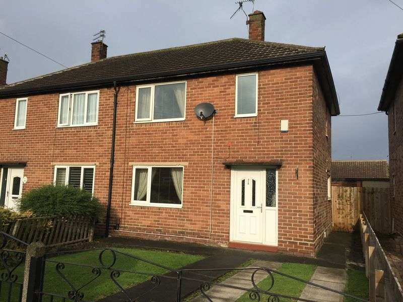 2 Bedrooms Semi Detached House for sale in Grosvenor Crescent, Hebburn