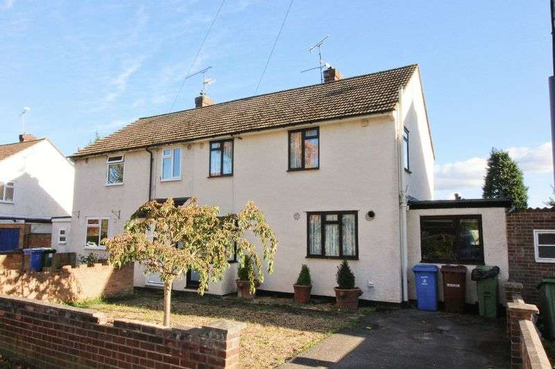 4 Bedrooms Semi Detached House for sale in Blackthorn Crescent, Farnborough