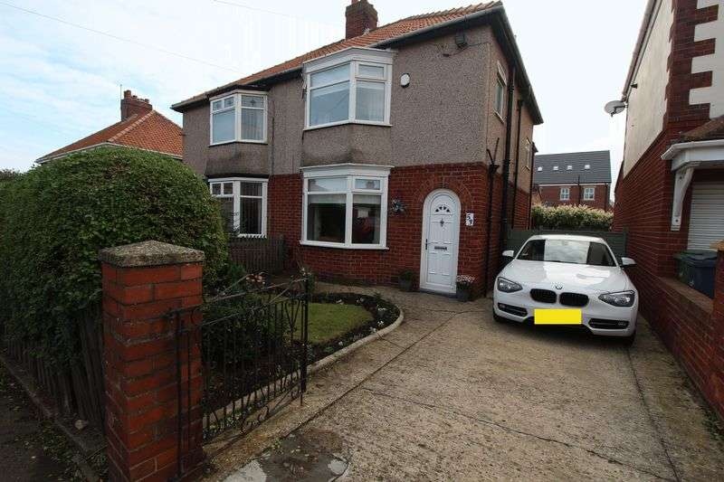 3 Bedrooms Semi Detached House for sale in Acklam Avenue, St Adians Estate, Sunderland