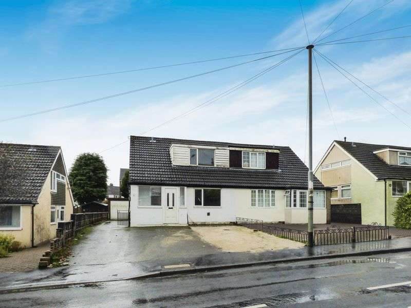 3 Bedrooms Semi Detached House for sale in Roils Head Road, HX2 0NJ