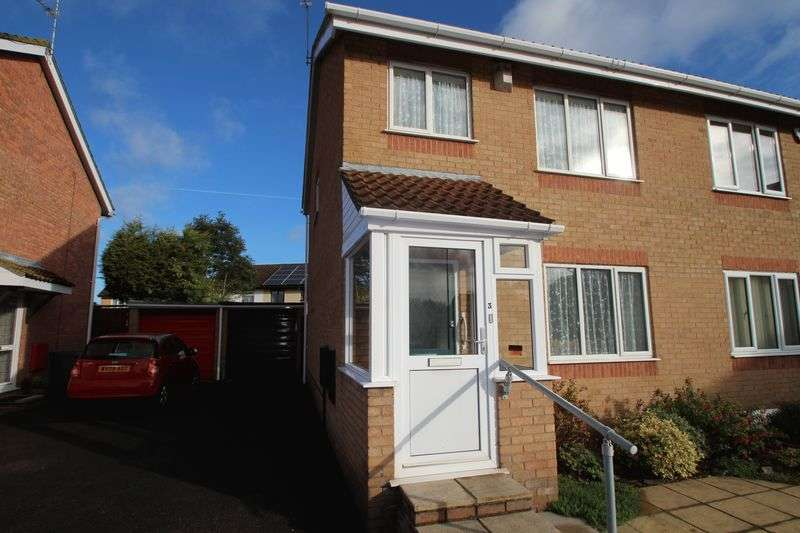 3 Bedrooms Semi Detached House for sale in Stibbs Court Longwell Green Bristol