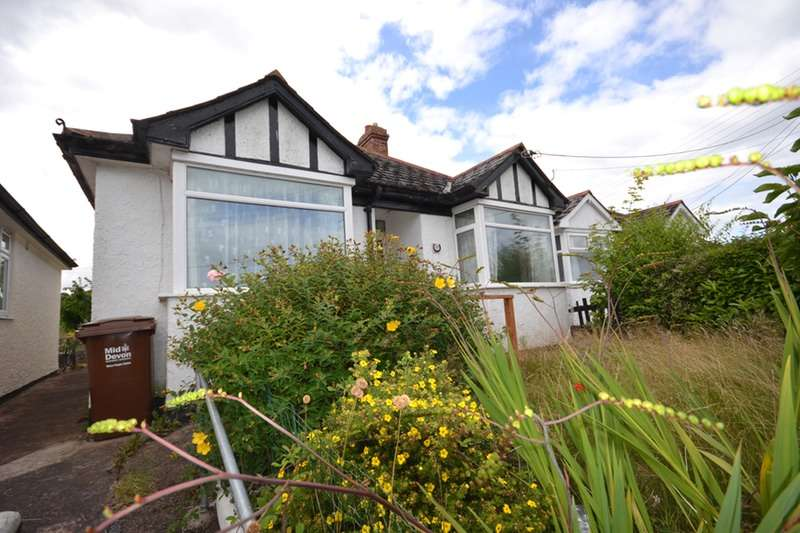 2 Bedrooms Bungalow for sale in HELE ROAD, BRADNINICH, Devon, EX5
