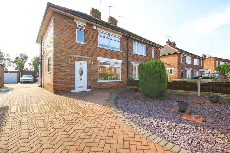 3 Bedrooms Semi Detached House for sale in Haslemere Grove, Doncaster, South Yorkshire, DN5