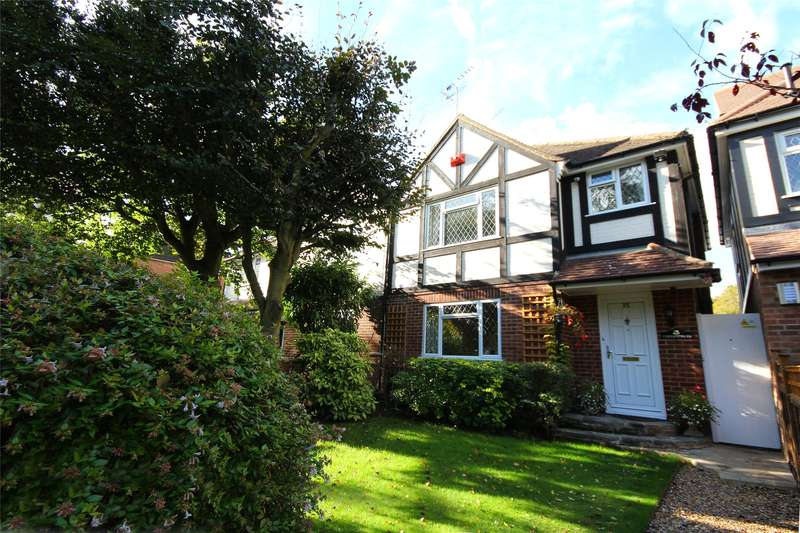 3 Bedrooms Semi Detached House for sale in Liberty Rise, Rowtown, Addlestone, KT15