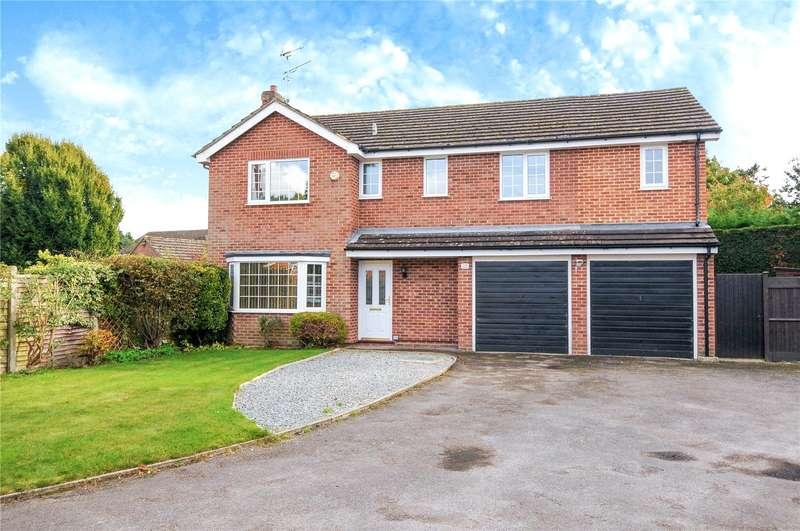 5 Bedrooms Detached House for sale in Kelsey Avenue, Finchampstead, Wokingham, Berkshire, RG40