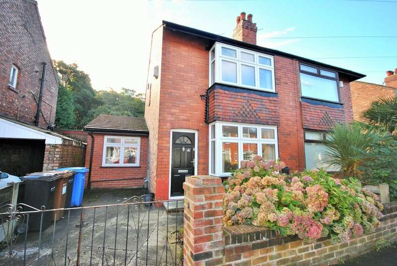 2 Bedrooms Semi Detached House for sale in Shaftesbury Road, Cheadle Heath