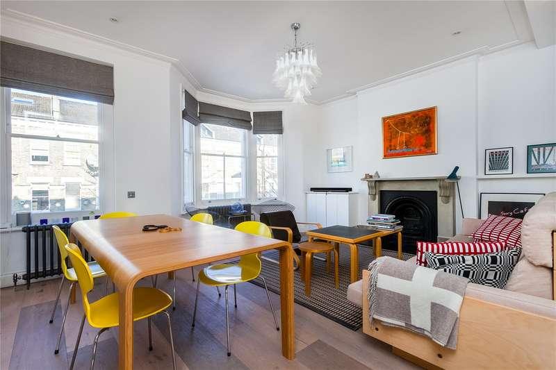 3 Bedrooms Maisonette Flat for sale in Gratton Road, London, W14
