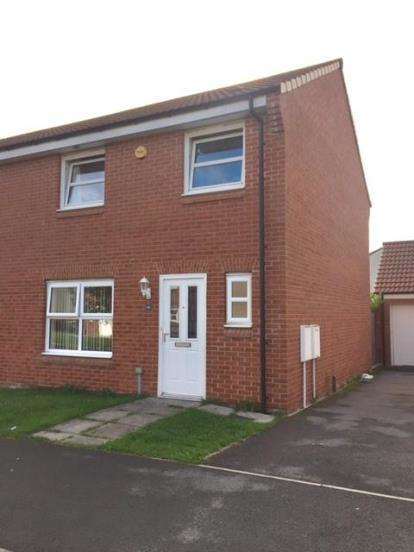 3 Bedrooms Semi Detached House for sale in Skerne Way, Darlington