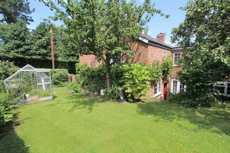 4 Bedrooms Semi Detached House for sale in Golden Nook Cottage, Northwich, CW8