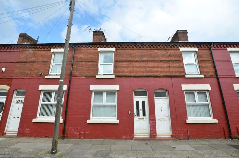 2 Bedrooms Terraced House for sale in Goodison Road, Liverpool, Merseyside, L4