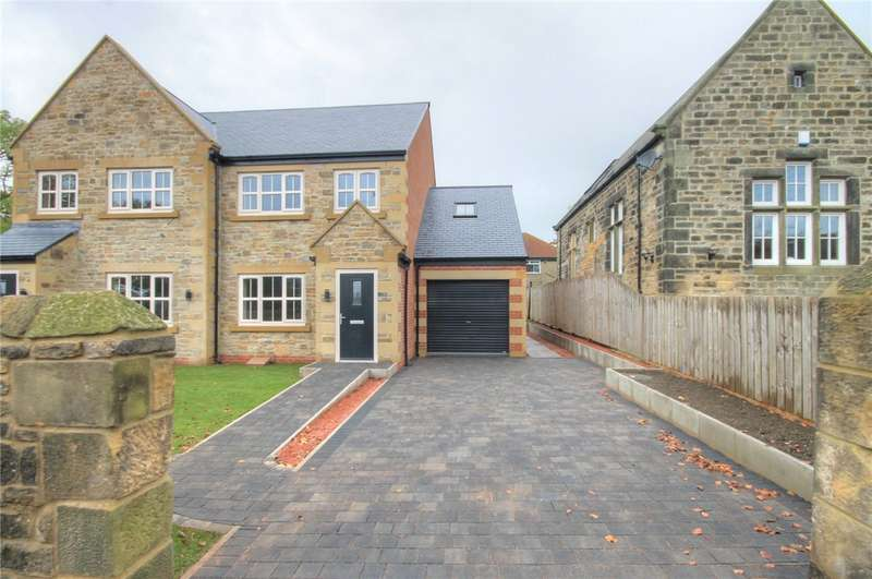4 Bedrooms Semi Detached House for sale in North Road, Hare Law, Stanley, DH9