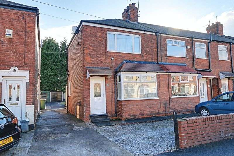 2 Bedrooms Semi Detached House for sale in Seaton Road, Hessle