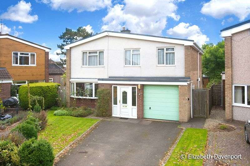 4 Bedrooms Detached House for sale in Knoll Croft, Stivichall, Coventry