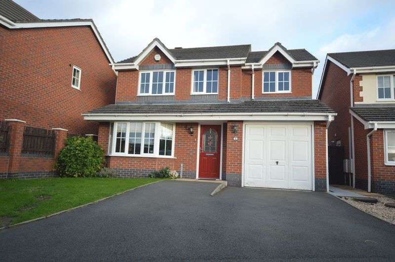 4 Bedrooms Detached House for sale in Candleberry Meadow, Telford