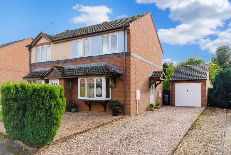 2 Bedrooms Semi Detached House for sale in College Close, Horncastle