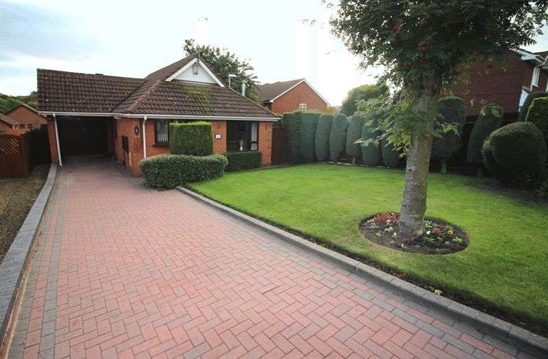 2 Bedrooms Detached Bungalow for sale in Tamar Drive, Woodsetton