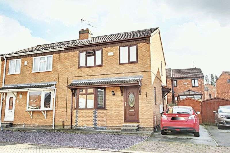 3 Bedrooms Semi Detached House for sale in Skeckling Close, Burstwick