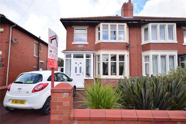 3 Bedrooms Semi Detached House for sale in 29 Lawrence Avenue, LYTHAM ST ANNES, Lancashire