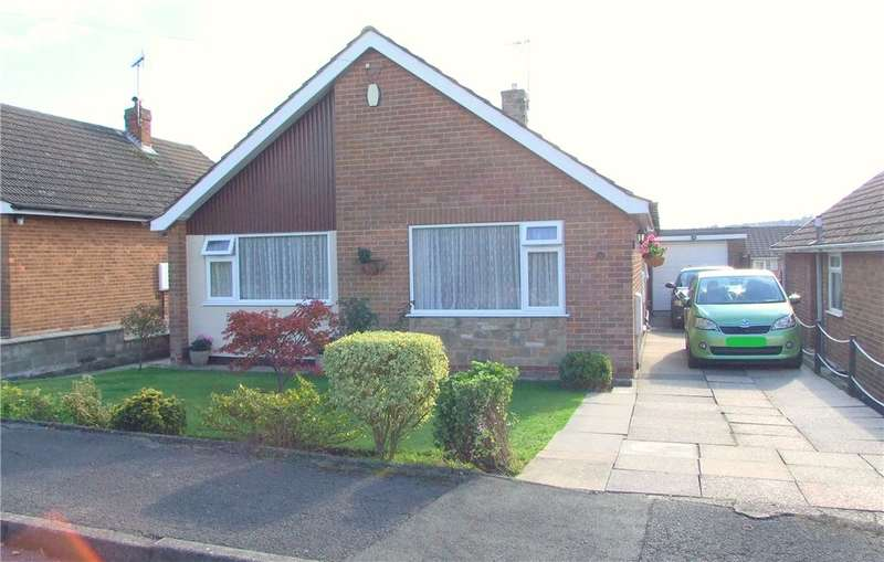 2 Bedrooms Detached Bungalow for sale in Holmes Close, Langley Mill, Nottingham, Nottinghamshire, NG16