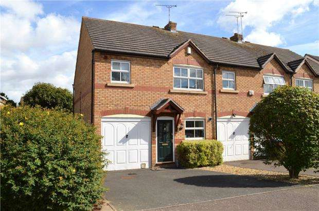 3 Bedrooms End Of Terrace House for sale in Grange Farm Drive, Stockton, Southam, Warwickshire