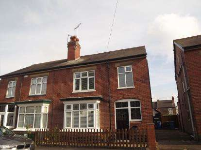 3 Bedrooms Semi Detached House for sale in Heath Avenue, Littleover, Derby, Derbyshire