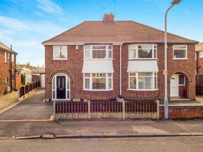 3 Bedrooms Semi Detached House for sale in Copeland Road, Hucknall, Nottingham, Nottinghamshire
