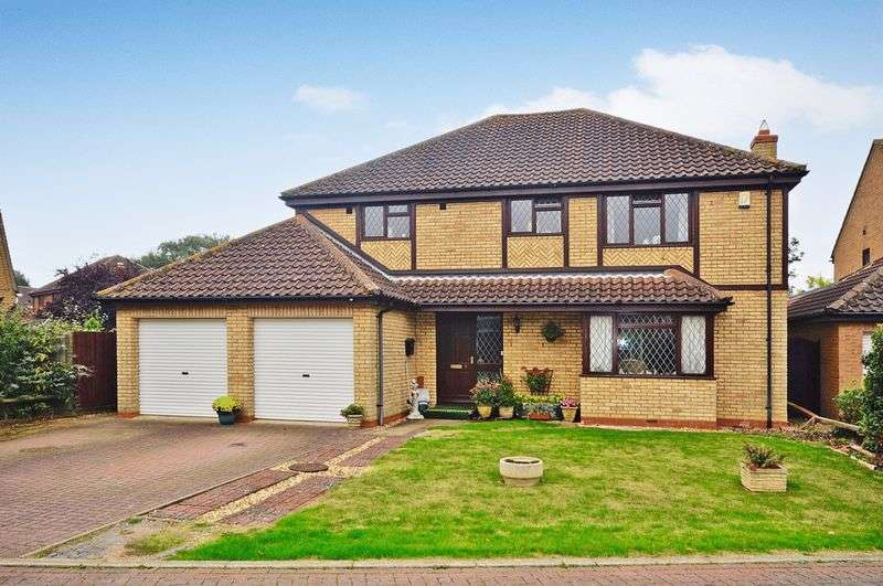 4 Bedrooms Detached House for sale in Haycraft Close, Grafham